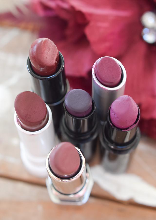Die schönsten Beerentöne bei Lippenstiften