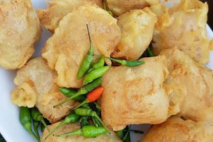 Resep Tahu bunting goreng enak,krispi dan lezat