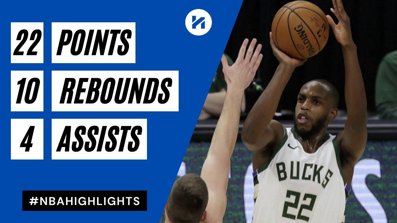 Khris Middleton 22pts 10reb 4ast vs MEN | March 4, 2021 | 2020-21 NBA Season