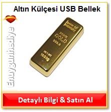 Altın Külçesi USB Bellek