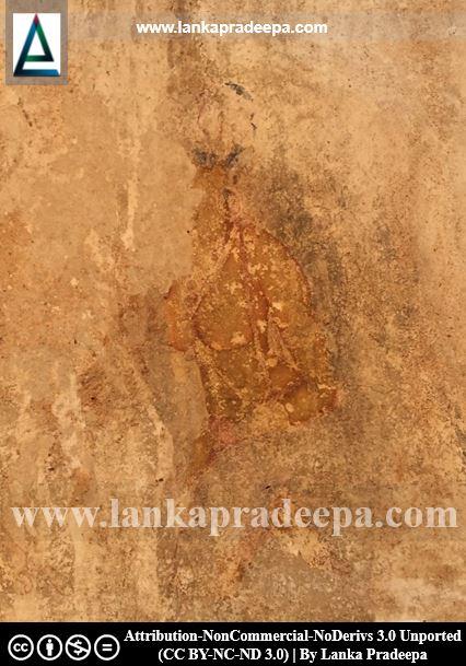 Faint traces of female figures