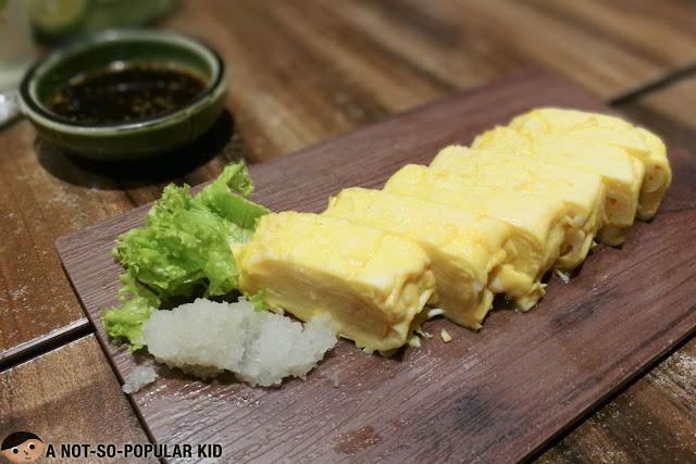 Rolled Omellete or Tamagoyaki of Watami