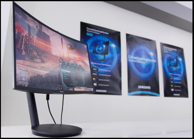 Curved Gaming Monitor CFG70