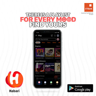 GTBank Unveils Habari, Nigeria's Largest Platform for Music, Shopping, Lifestyle Content and More
