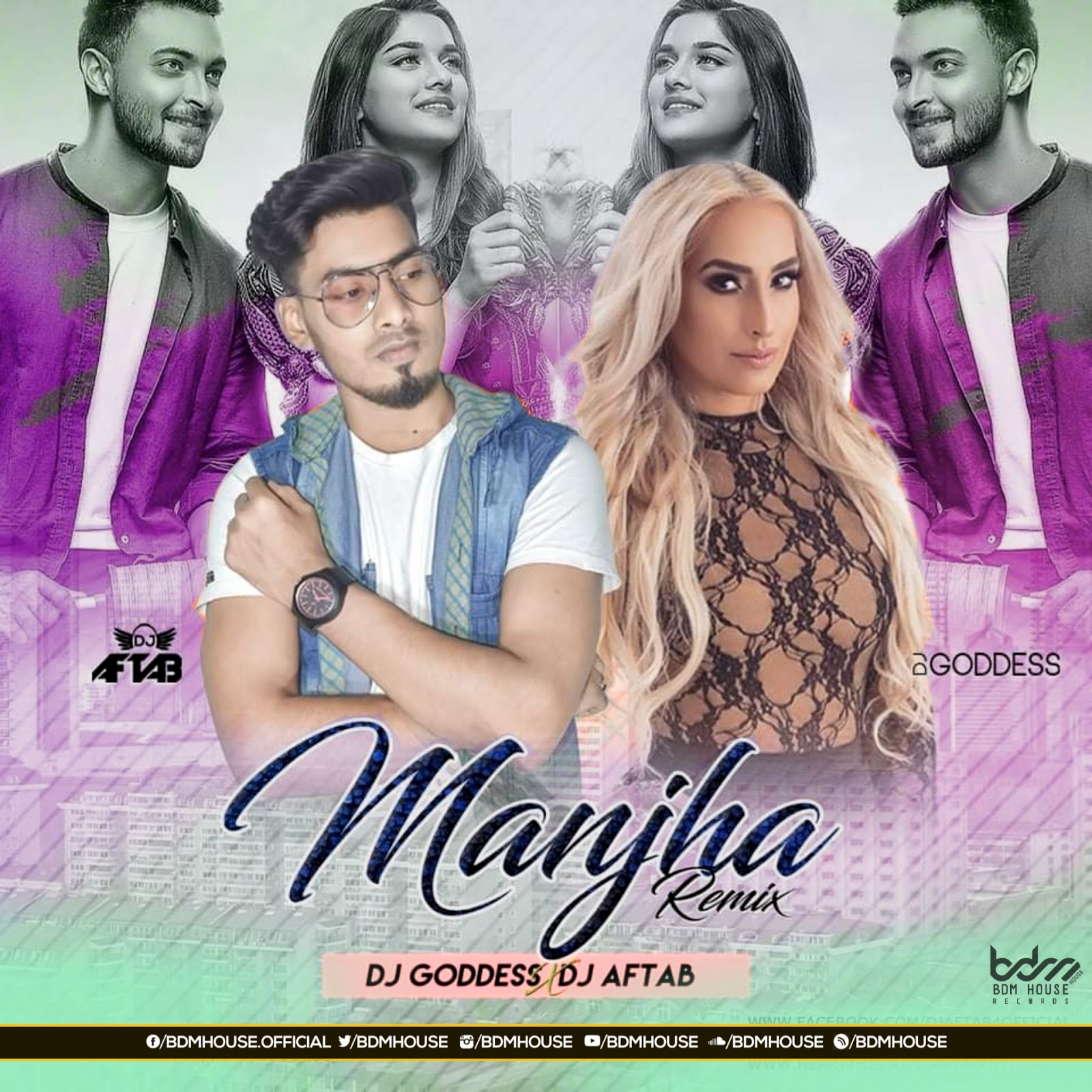 Manjha (Remix) DJ Goddess x DJ Aftab BY BDM HOUSE RECORDS