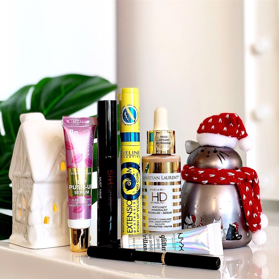 Kosmetyczni ulubieńcy makijaż 2019