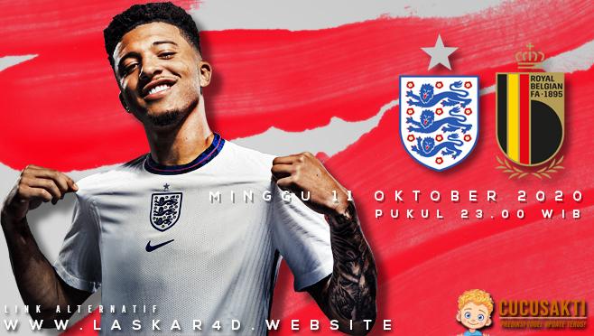 Prediksi Bola Inggris vs Belgia Minggu 11 Oktober 2020