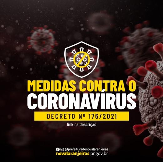 Nova Laranjeiras decreta novas medidas de prevenção a Covid-19