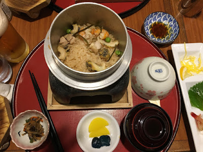 AERU 浦河産のツブ貝釜飯御膳