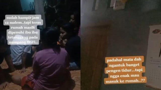 VIRAL Cerita Pria soal Tetangga Numpang WiFi hingga Larut Malam, Kini Pasang Tarif Rp2 Ribu Sehari