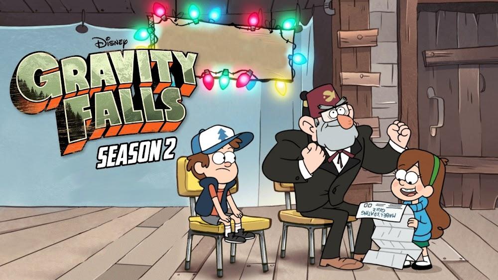 Gravity Falls (Season 2) English Episodes Download 1080p FHD WEB-DL