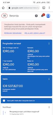 Verifikasi Rekening Bank Google Adsense