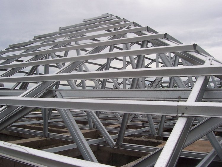 contoh atap baja ringan rumah minimalis kuda desain