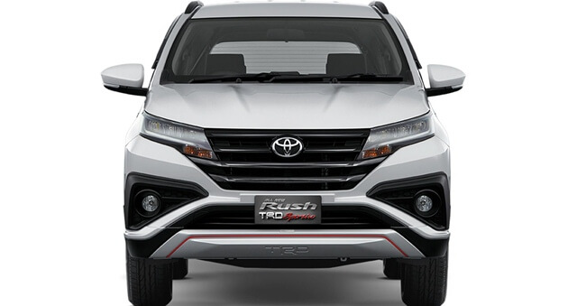 New 2018 Toyota Rush front look image
