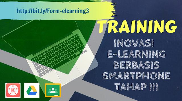 Daftar Peserta Tetap Training Inovasi E-learning Berbasis Smartphone Tahap III - 2019