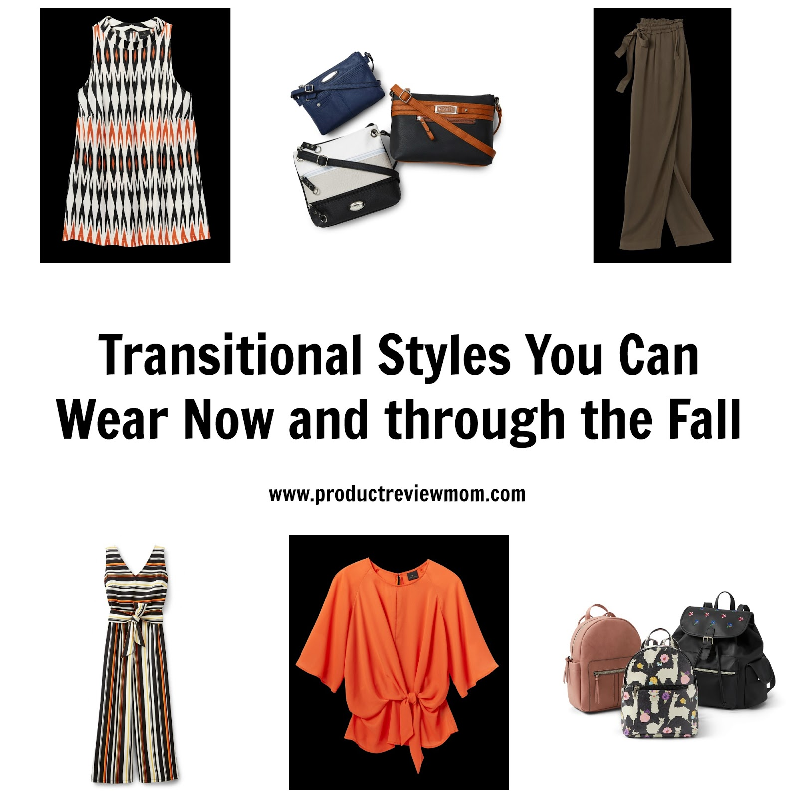 Transitional Styles You Can Wear Now and through the Fall