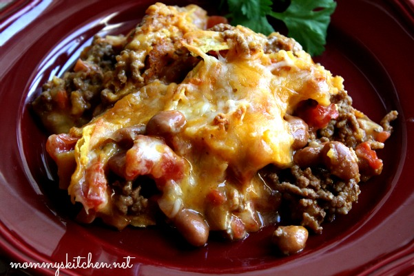 recipe: mexican beef casserole with doritos [10]