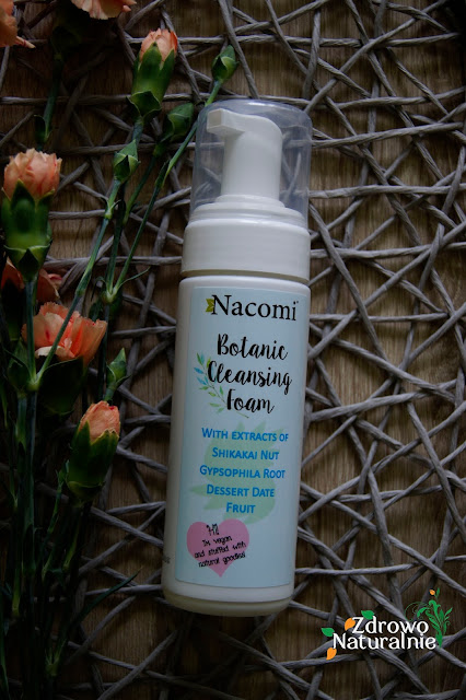 Nacomi - Botaniczna pianka myjąca do twarzy