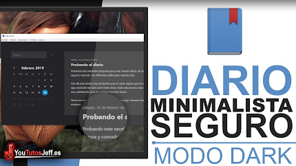 Minimalista Programa para Guardar tu Dia a Dia - Crea tu Diario