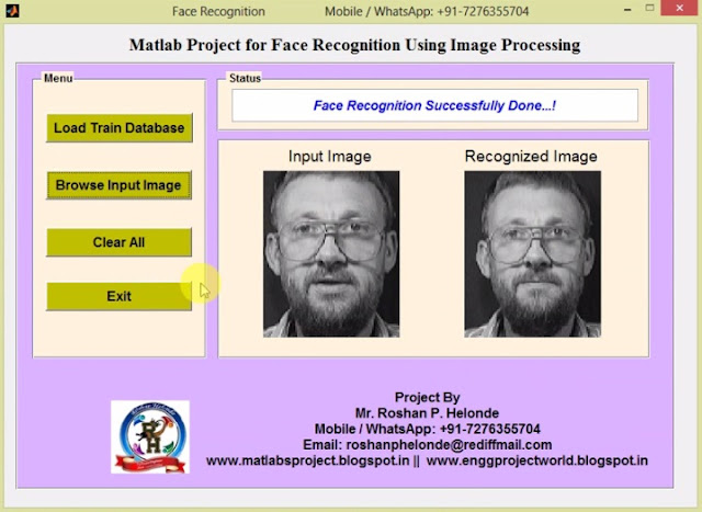 Face Recognition And Detection Project – Dibujos Para Colorear