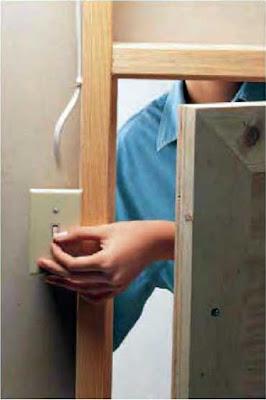 Instalaciones eléctricas residenciales - Apagador en closet