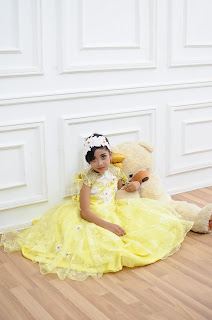 GAUN PRINCESS BELLE