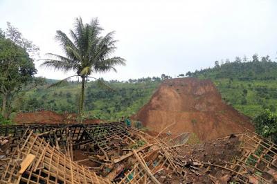 Sebaran Daerah Rawan Bencana Alam Indonesia