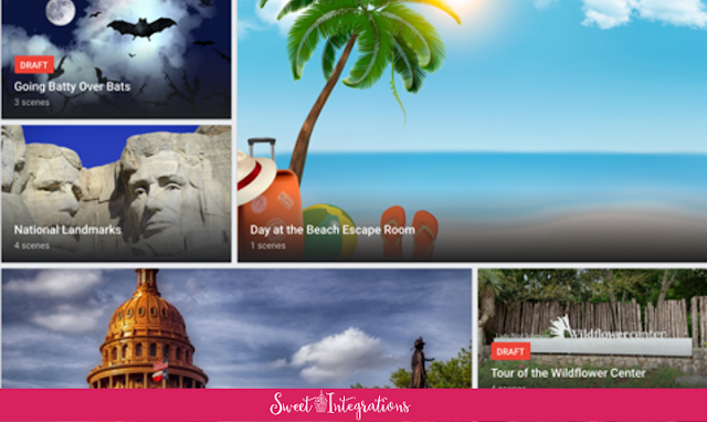 Google Tour Creator Homepage image