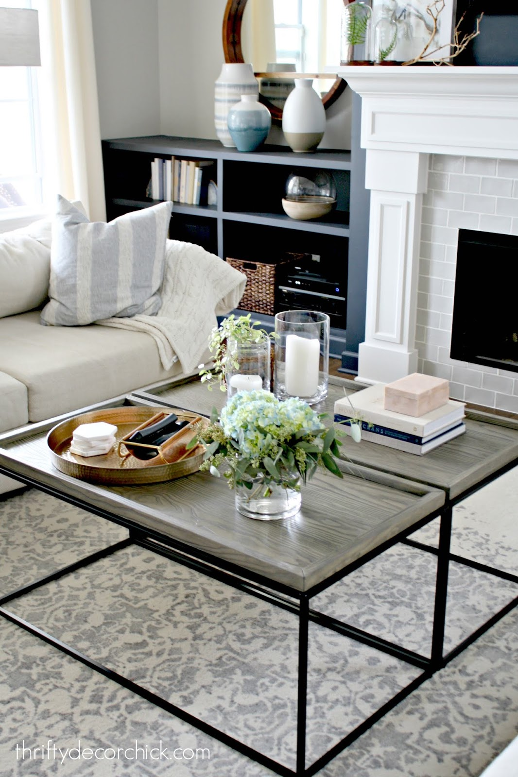 How to get a large coffee table for half the price