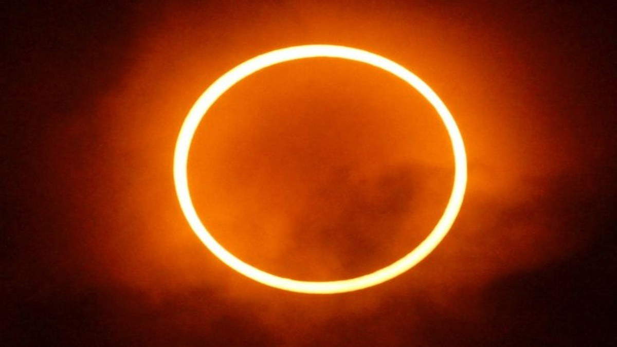 Gerhana Matahari Cincin (Foto: BMKG)