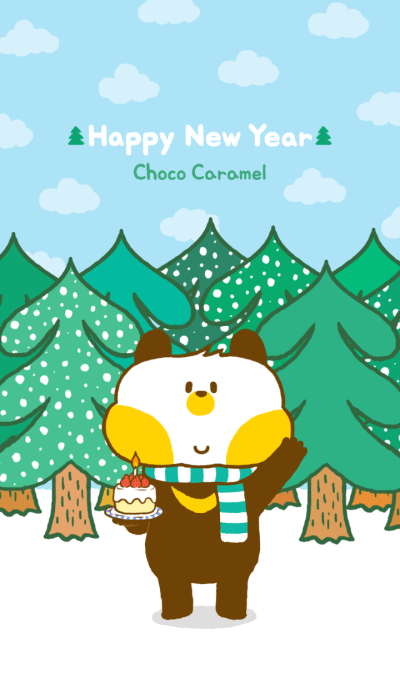 Choco Caramel-Happy New Year!