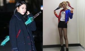Sao Hàn 14/1: Seol Hyun bị xuyên kiếm như yêu tinh Goblin, Dara chân dài bất ngờ