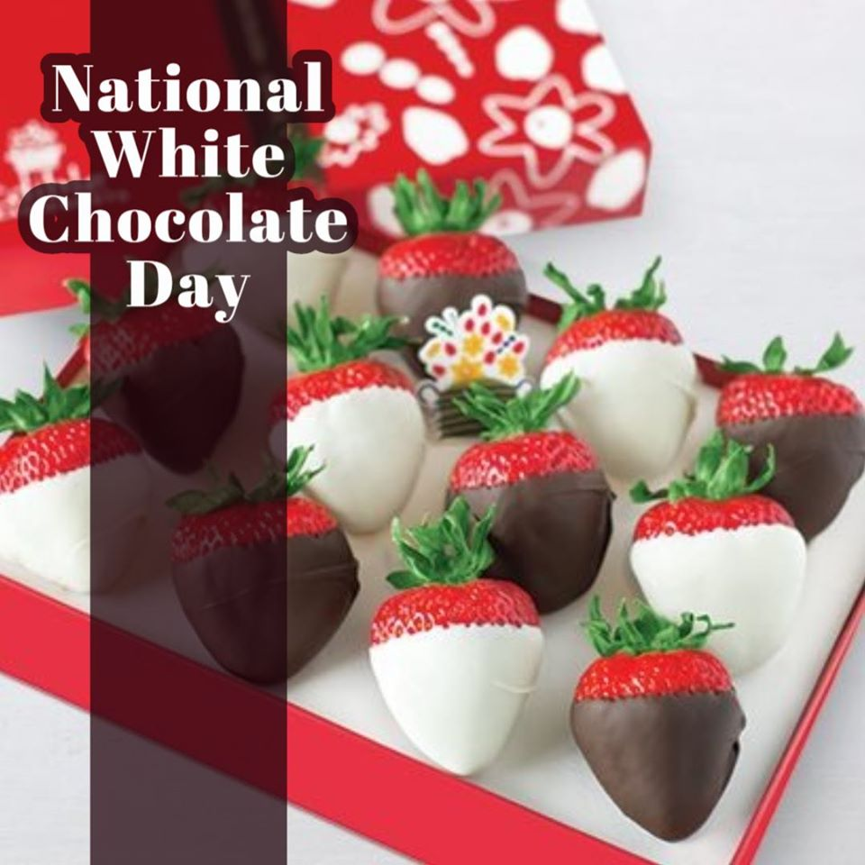 National White Chocolate Day Wishes Awesome Picture