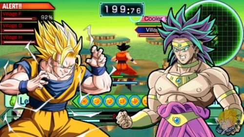 Dragon Ball PPSSPP ISO Android
