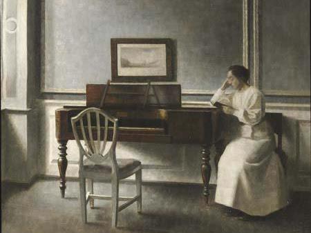 Vilhelm Hammershoi: il misterioso pittore-poeta delle case danesi