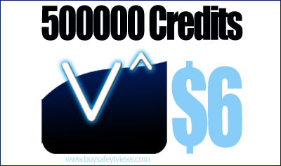 Buy 500000 Enhanceviews credits