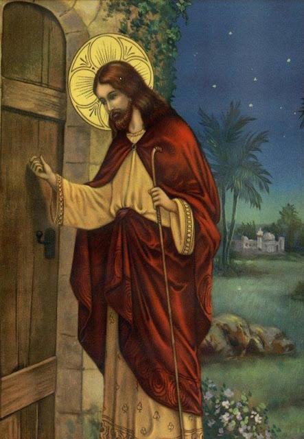 Αποτέλεσμα εικόνας για ο χριστος κρουει την πορτα