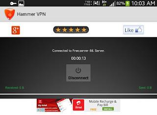 Globe Hammer VPN trick free 3G/4G internet Philippines
