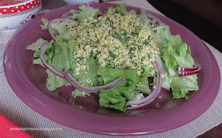 Французский салат Мимоза