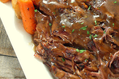 "Slow Cooker ""Melt in Your Mouth"" Pot Roast"