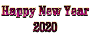 New Year 2020 PNG Picture