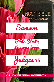 Samson Bible Study lessons from Judges 15