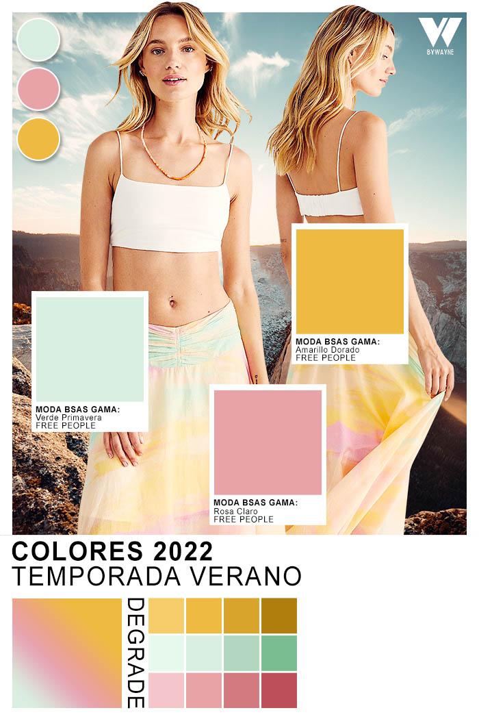 moda colores temporada verano 2022