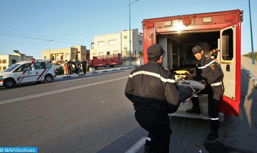 26 قتيلا و2491 جريحا حصيلة حوادث السير بالمناطق الحضرية خلال الأسبوع الماضي