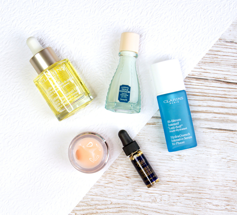 clarins hydra quench bi-phase serum clinique moisture surge extended thirst relief gel creme benefit triple performing facial emulsion clarins lotus face treatment oil kiehl's midnight recovery concentrate reviews