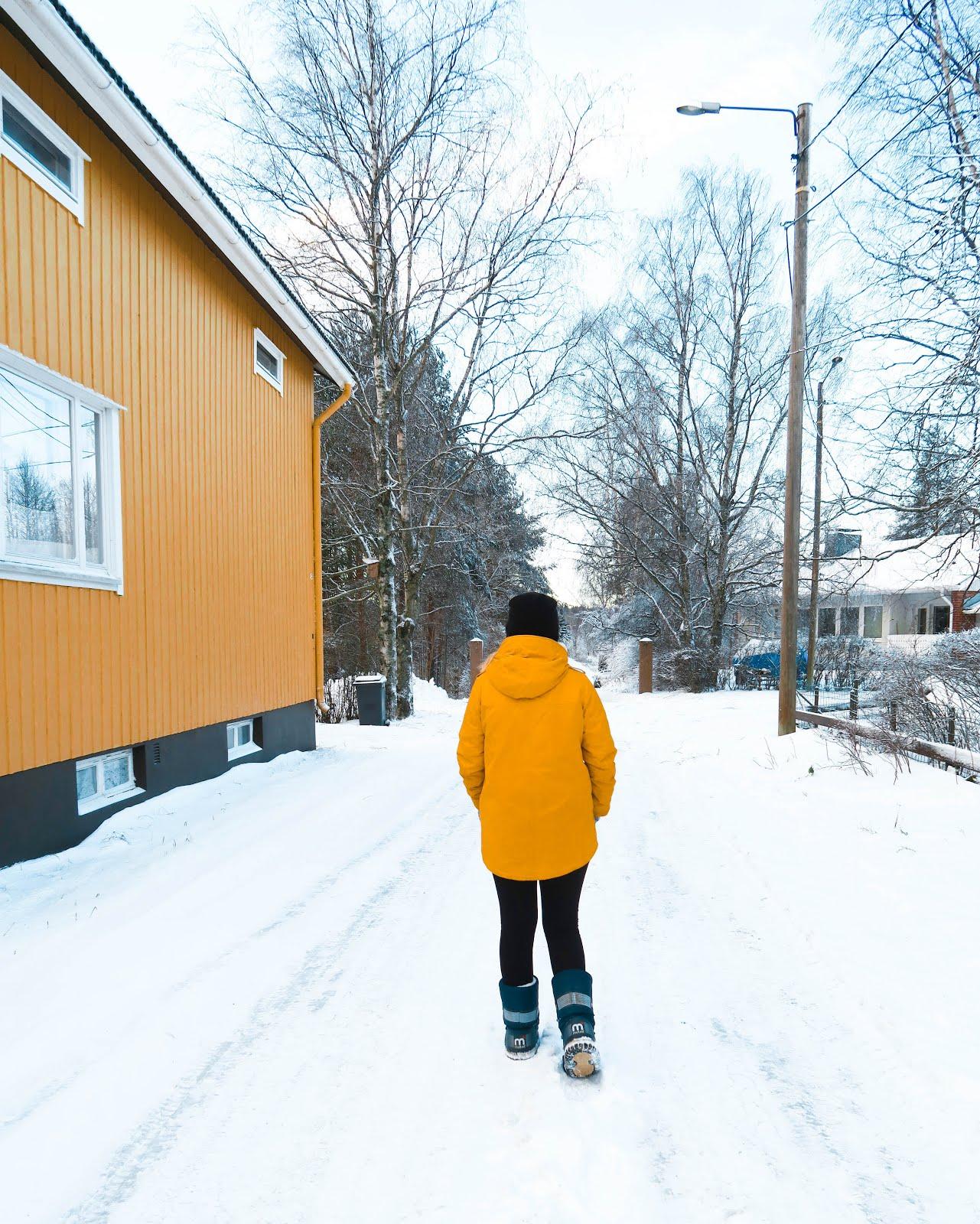 Snow in Finland | Anna Twenty Seven | www.annatwentyseven.com