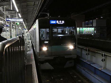 【ダイヤ改正で消滅!?】各駅停車 北千住行きE233系2000番台