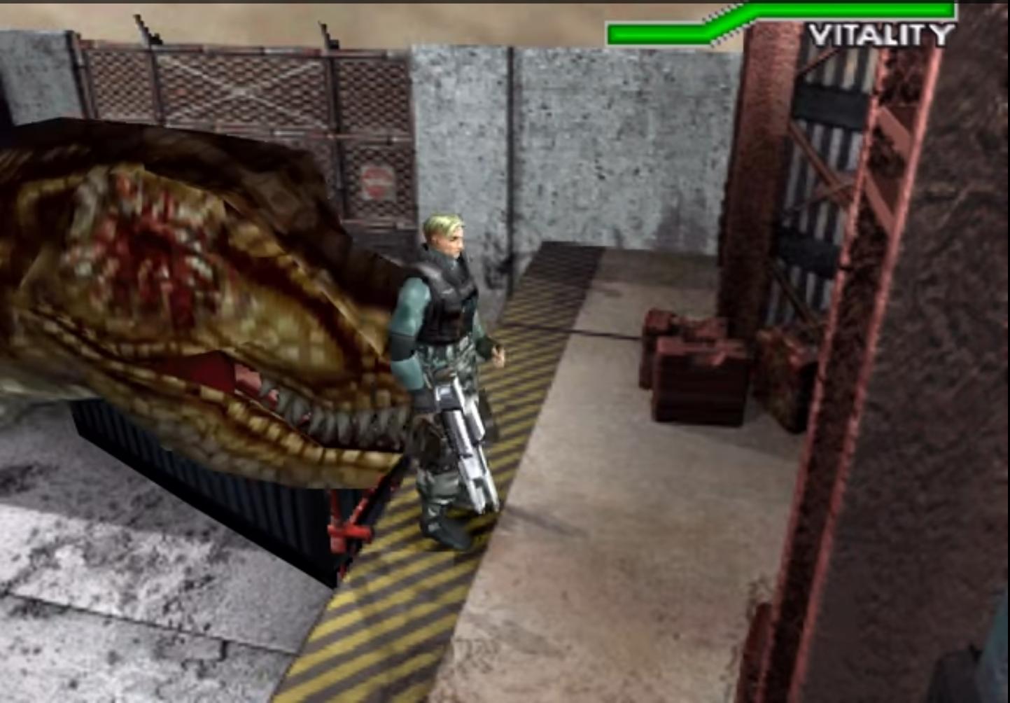 Dino Crisis 2 capcom