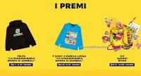 "Concorso ""Boing Pranzo"" :  con Boing TV vinci gratis 100 premi (felpe, t-shirt e gadget)"