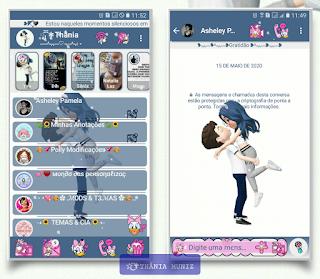Lover Theme For YOWhatsApp & KM WhatsApp By Thania